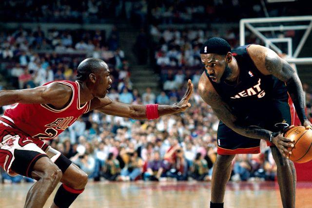 Mike & LeBron Bigger